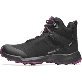 Icebug Pace3 BUGrip GTX Shoes Women black/dark hibiscus